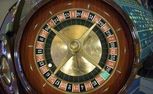 Une roulette dans un casino français, le 27 février 2013