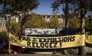 Le Droit au logement (DAL) organise des manifestations régulières.