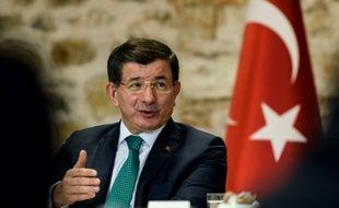 Le Premier ministre turc Ahmet Davutoglu, le 9 décembre 2015 à Istanbul