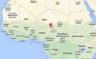 L'état de Borno, dans le Nord-Est du Nigéria.