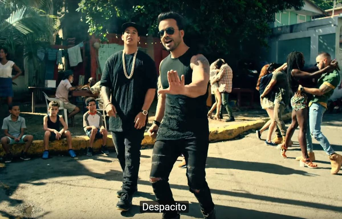 Image tirée du clip de Despacito – UML