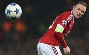 L'attaquant de Manchester United Wayne Rooney, le 3 novembre 2015, à Old Trafford.