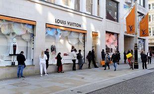 Le magasin Louis Vuitton de Bond Street, à Londres.