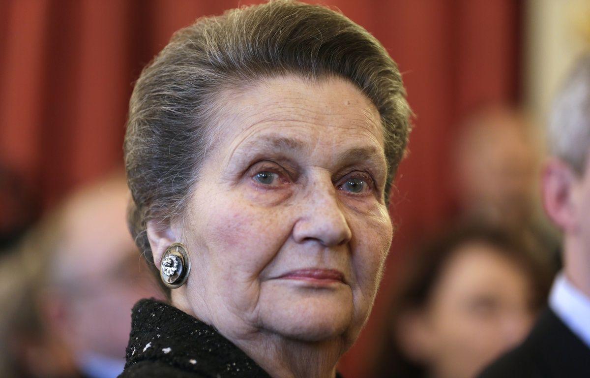 Simone Veil fait partie des femmes remarquables mises en avant par les Lyonnais à l'occasion de la journée internationale des droits de la femme. – KENZO TRIBOUILLARD / AFP