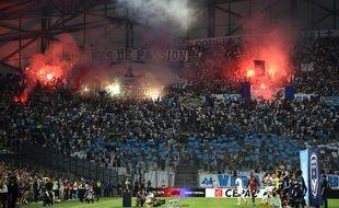 Le retour des supporters au Vélodrome.