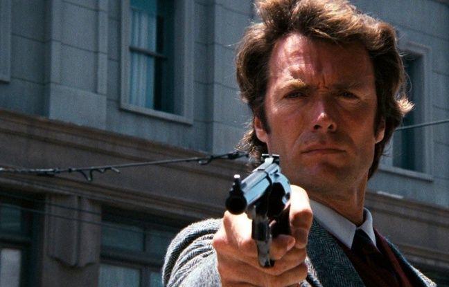 Clint Eastwood dans «L'Inspecteur Harry».