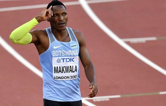 Isaac Makwala devrait finalement pouvoir défendre ses chances sur le 200m lors des Mondiaux de Londres, le 9 août 2017.
