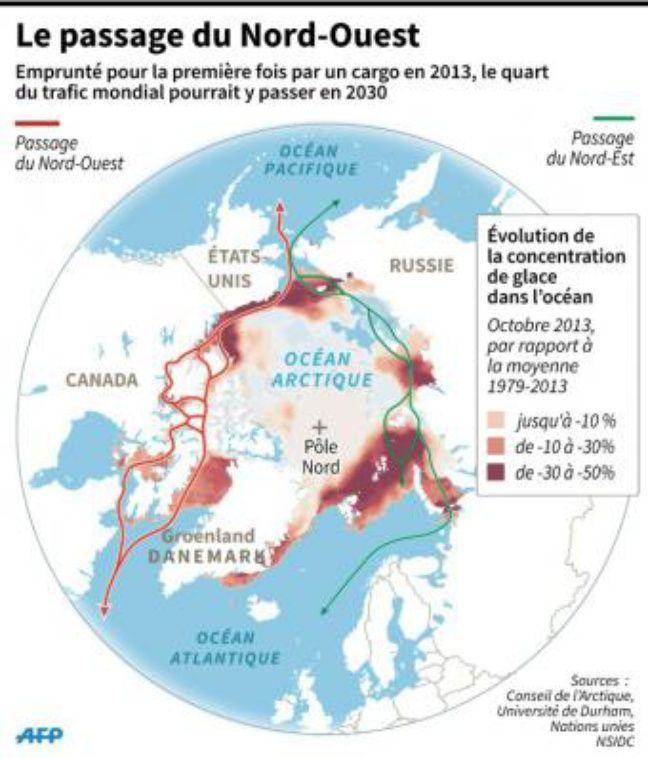 Arctique : le passage du Nord-Ouest