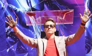 L'acteur Robert Downey Jr.