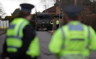 Des policiers anglais à Salisbury (image d'illustration).