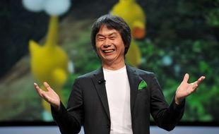 Shigeru Miyamoto, le 5 juin 2012, au salon du jeu vidéo e3, à Los Angeles.