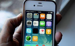 Un iPhone 5.