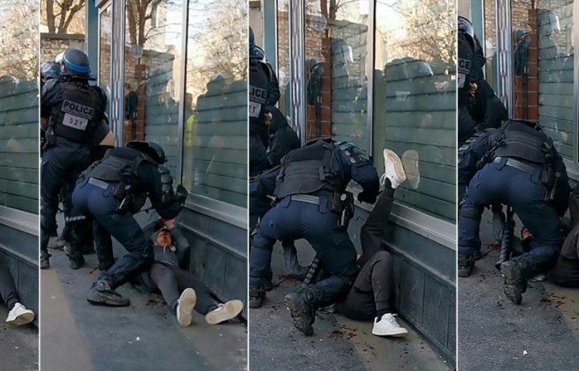 Paris : Le manifestant frappé au sol sera lui-même jugé pour des violences contre les forces de l'ordre