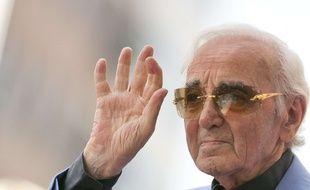 Charles Aznavour. (Illustration)