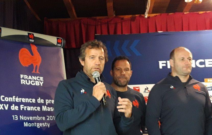 XV de France : Fabien Galthié veut « rentrer de nouveau dans le Top 3 mondial »