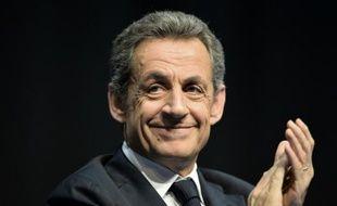 L'ancien président de la République et président des Républicains, Nicolas Sarkozy, le 14 octobre 2015 à Limoges