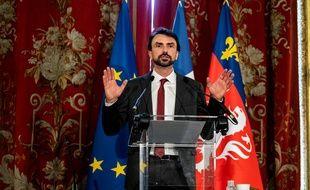 Grégory Doucet, élu officiellement nouveau maire de Lyon.