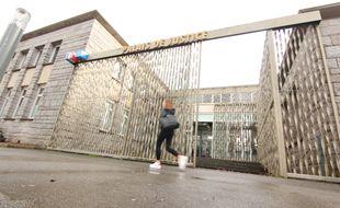 L'entrée du tribunal de grande instance de Lorient, dans le Morbihan.
