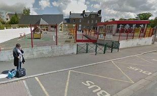 Capture d'écran de l'école Saint-Yves à Miniac-Morvan sur Google Maps.
