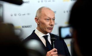 Thierry Bolloré, directeur général exécutif de Renault, le 14 février 2019 à Paris.