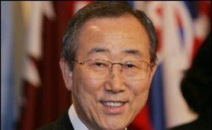 """M. Ban a également promis d'être très engagé dans le dossier nord-coréen, dont il était chargé en tant que chef de la diplomatie de son pays. """"En tant que secrétaire général, je m'efforcerai d'abord de faciliter un progrès en douceur des pourparlers à six"""", a-t-il dit."""