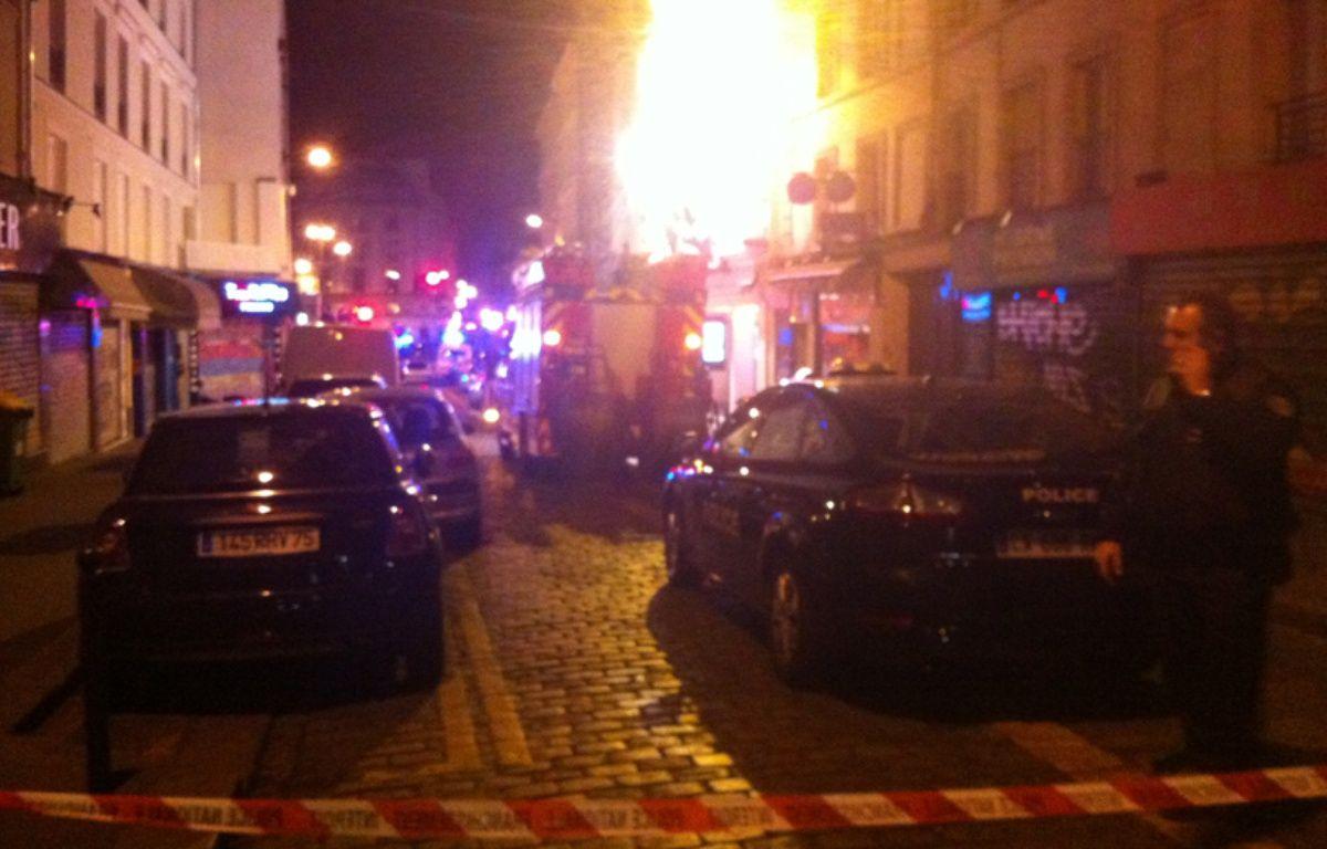 Rue du Faubourg du Temple, Paris 10e – C.B.
