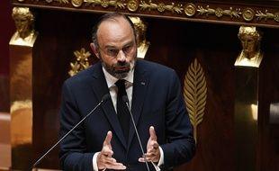 Edouard Philippe à l'Assemblée.