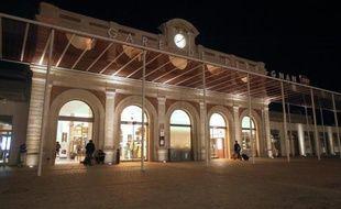La gare de Perpignan le 16 octobre 2014