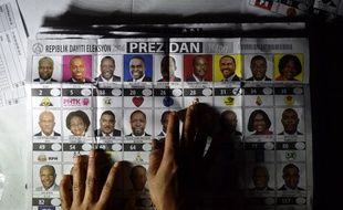 Vingt-sept candidats sont en lice pour la présidence et quatre ont prétendu pouvoir l'emporter dès le premier tour.
