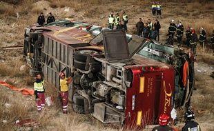 L'accident a eu lieu ans la région de Murcie