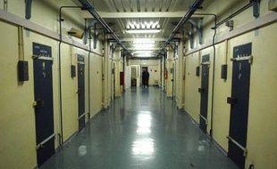 La prison de la Santé, à Paris, le 11 juin 2007.