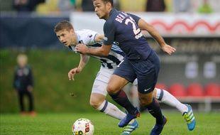 Hatem Ben Arfa lors du match amical entre le PSG et West Bromwich Albion le 13 juillet 2016.