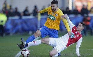 L'équipe de Canet-Roussillon a été battue par l'AS Monaco en 32e de finale de Coupe de France, le 6 janvier 2019.