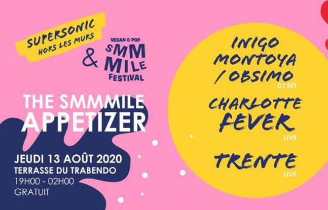 Visuel officiel du Smmmile Festival 2020