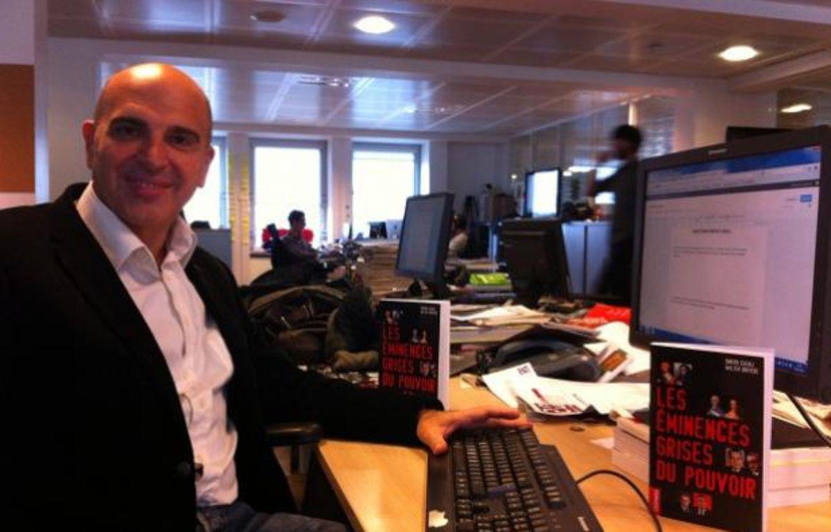 Dimitri Casali, à 20 Minutes, octobre 2011 – D.R.
