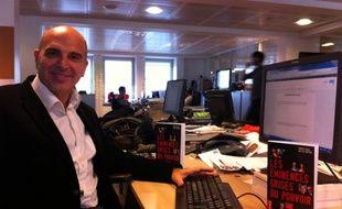 Dimitri Casali, à 20 Minutes, octobre 2011