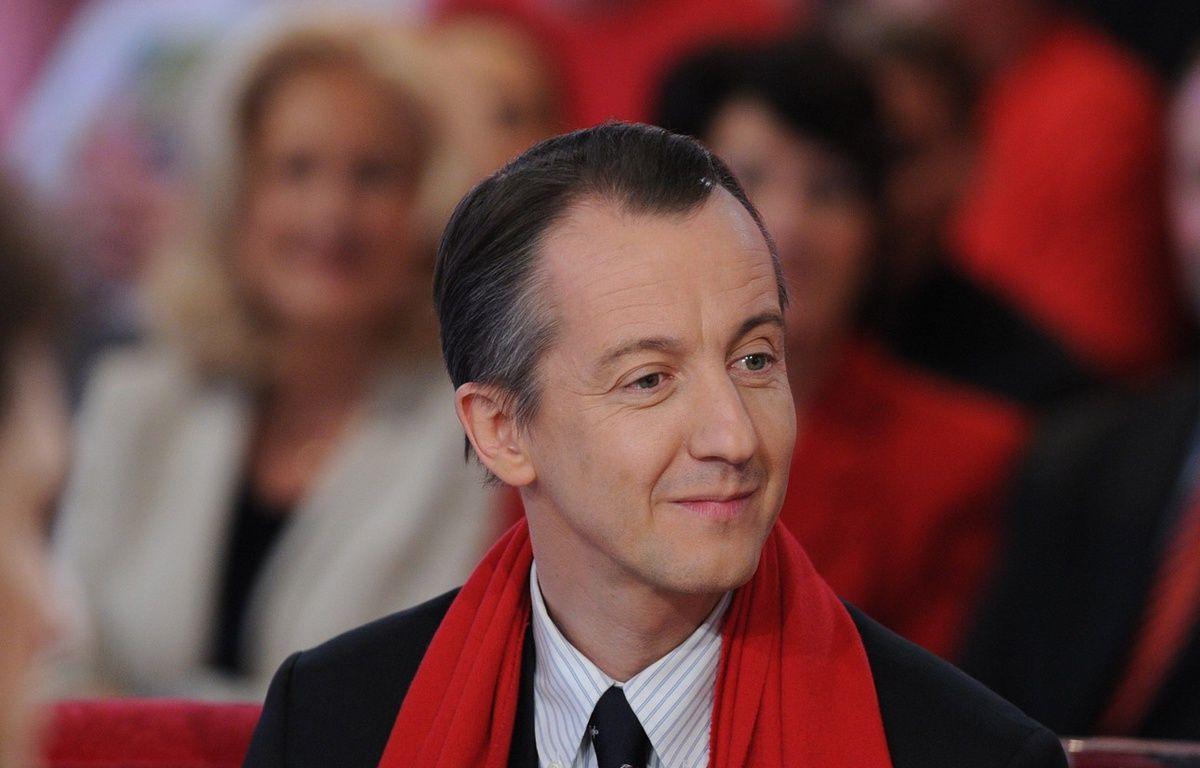 Le journaliste et éditorialiste Christophe Barbier.  –  PJB/SIPA
