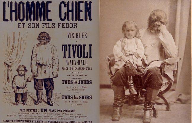 Adrian et son fils Fedor Jeftichew (affiche et photo).