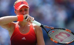 Kristina Mladenovic à l'US Open le 8 septembre 2015.