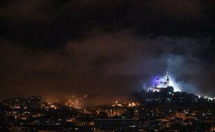 Marseille dans la pénombre