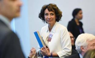 La ministre de la Santé Marisol Touraine à Bruxelles le 15 septembre 2014