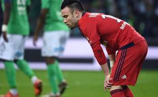 Mathieu Valbuena, lors de la défaite (1-0) dans le derby à Saint-Etienne le mois dernier.