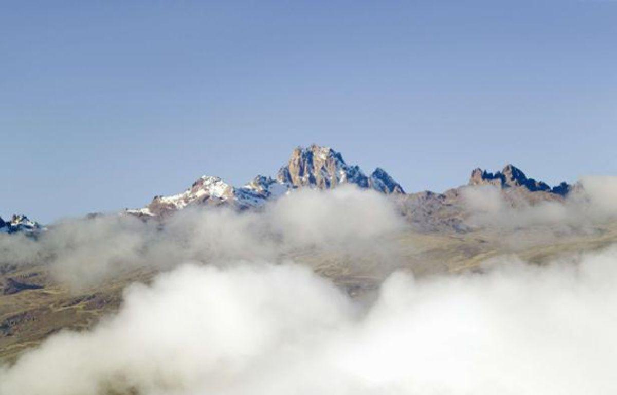 Le mont Kenya. – PURESTOCK/SIPA