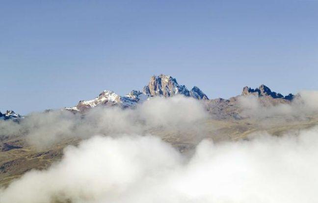 Le mont Kenya.