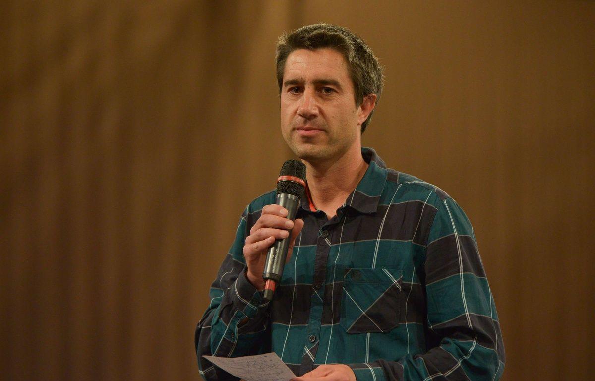 Francois Ruffin, le 13 mai 2017 – SIPA