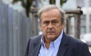 Michel Platini en Suisse, le 31 août 2020.