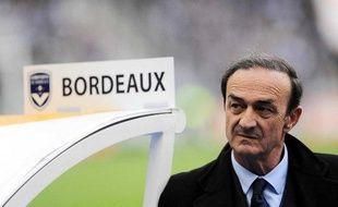Le président des Girondins de Bordeaux, Jean-Louis Triaud, lors de la finale de la Coupe de la Ligue au stade de France face à Vannes, le 25 avril 2009.