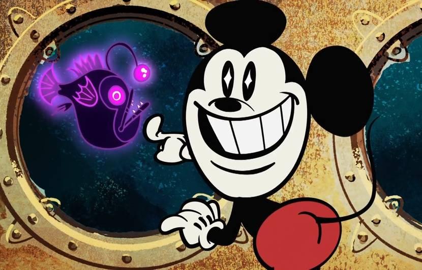 Video L étrange évolution De Mickey Et Sa Bande