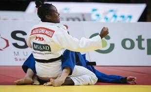 Clarisse Agbegnenou n'a pas traîné en finale des championnats d'Europe.