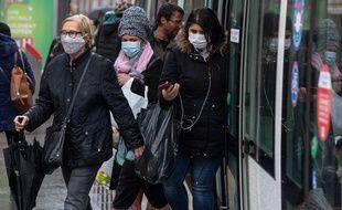 A Strasbourg, le masque était déjà obligatoire dans le tram. Il l'est désormais aussi dans tout le centre-ville.